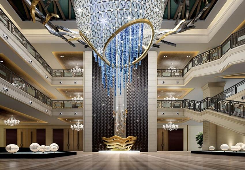 建筑酒店室内空间设计,别墅空间设计,酒店空间设计,软装设计