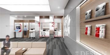 银行网点设计,金融办公设计,办公楼设计,办公室设计,室内空间设计,商业空间设计,商业办公楼设计