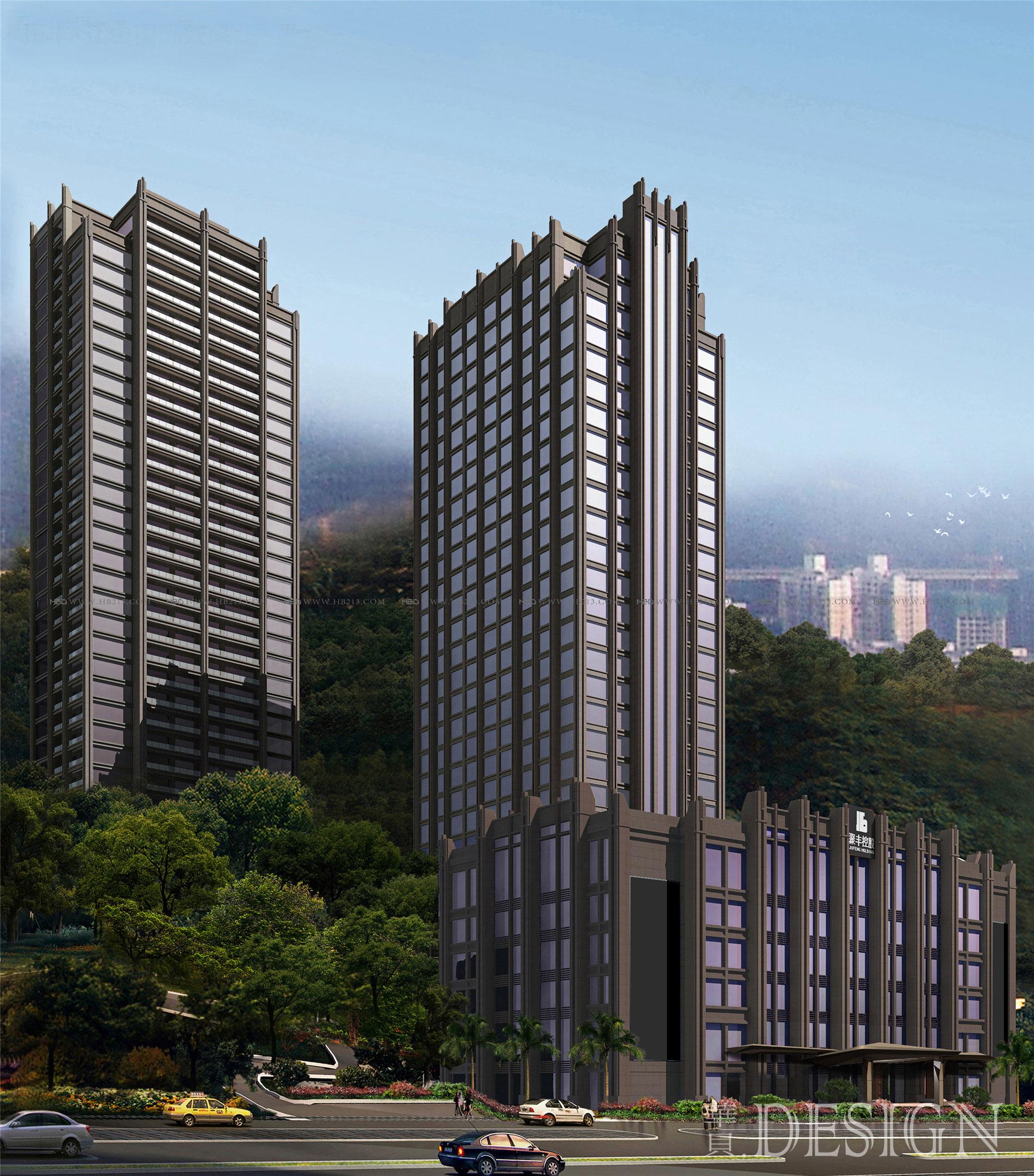 办公楼设计,办公室设计,室内空间设计,HBD,室内装修设计,建筑外观设计,建筑设计公司